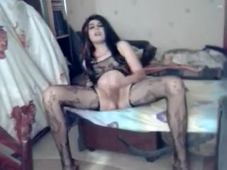 Naughty Unexperienced Ladyboy File With Hefty Man-meat, Pantyhose Vignettes