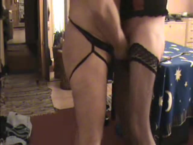 Home Made Supremacy Action With A Ts In Pantyhose