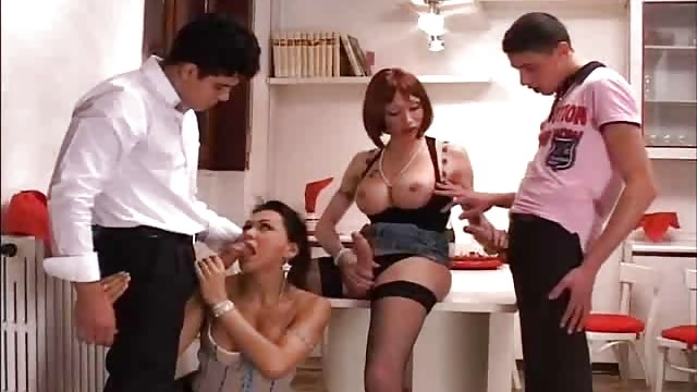 T-girl In Fuck-a-thon Store