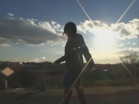 Splendid Asian Damsel Azumi Harusaki In Crazy Gigantic Milk Cans Jav Vignette